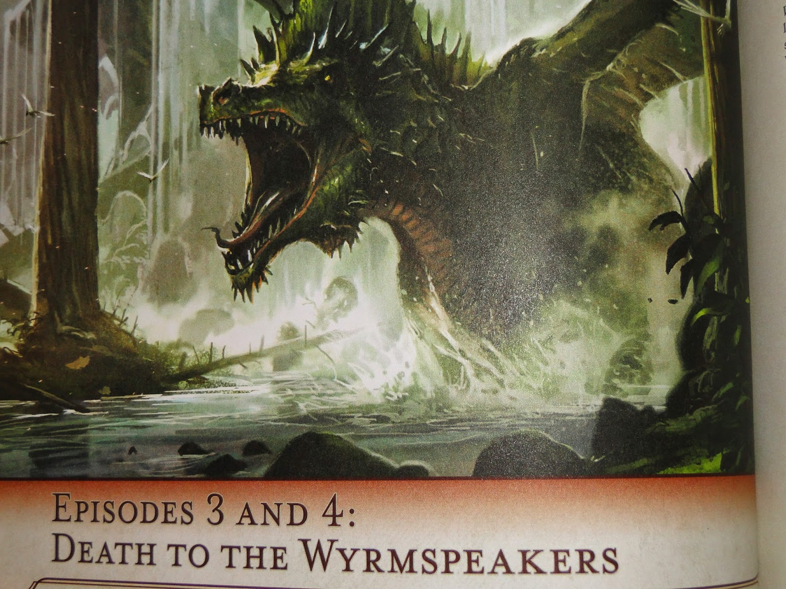 The Rise of Tiamat chapter title and illustration.