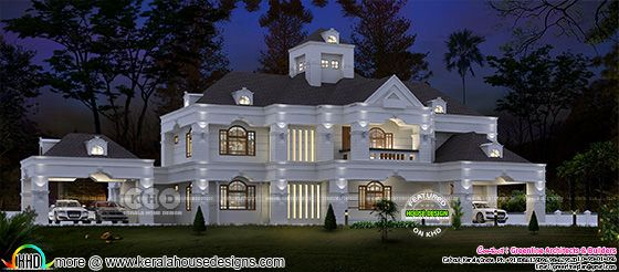 Superb colonial style 5 bedroom luxury home