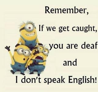 Gambar Minion Lucu Meme Kata Mutiara Quote Bahasa Inggris Kocak