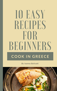 10 easy recipes for beginners - cook in Greece-ebook