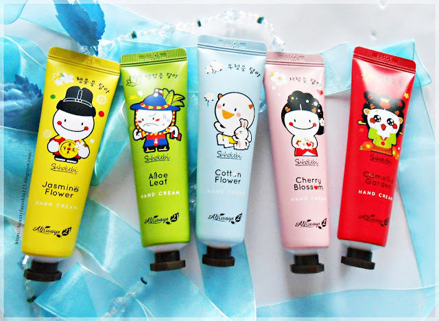 Always21 Suhokebi Hand Cream-Camellia Garden, Cherry Blossom, Cotton Flower, Aloe Leaf and Jasmine Flower