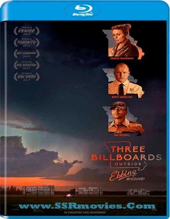Three Billboards Outside Ebbing, Missouri (2017) Dual Audio 720p