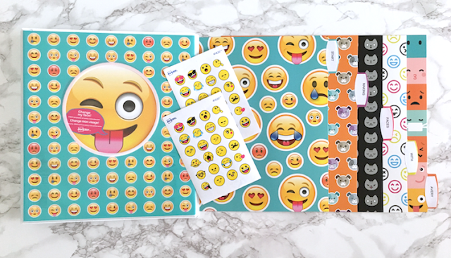 #AveryGivesBack #AveryMakingFaces emoji school supplies