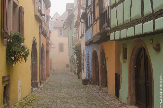 Riquewihr pueblos Alsacia Francia