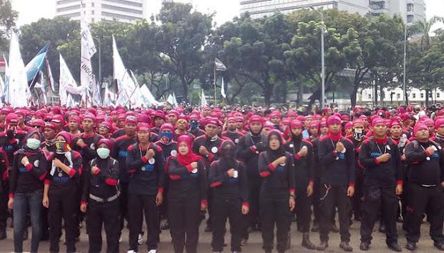 Bersamaan Aksi 212 Di Monas, 200 Ribu Buruh Akan Demo Di Istana Tuntut Ahok Dipenjara