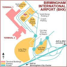 Manchester Airport Terminal  Long Stay Car Park Address