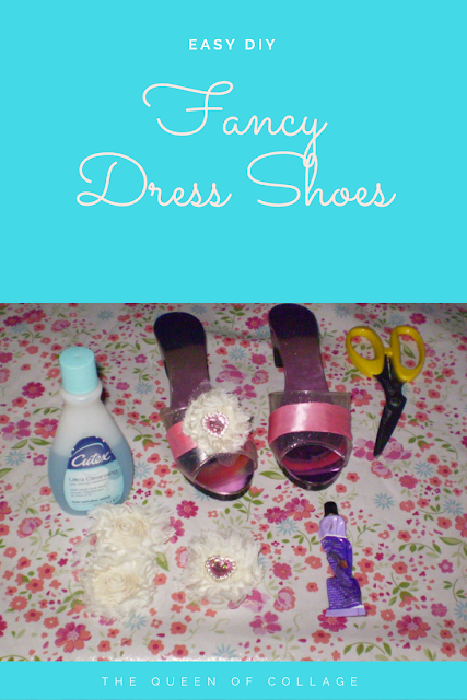 Easy DIY Upcycle Fancy Dress Shoes