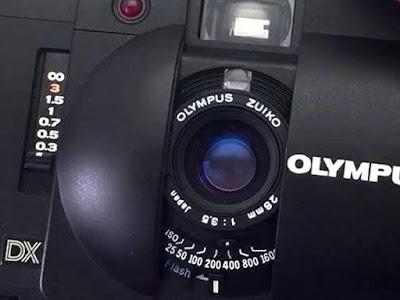 Olympus XA 4 Macro, Cut Out