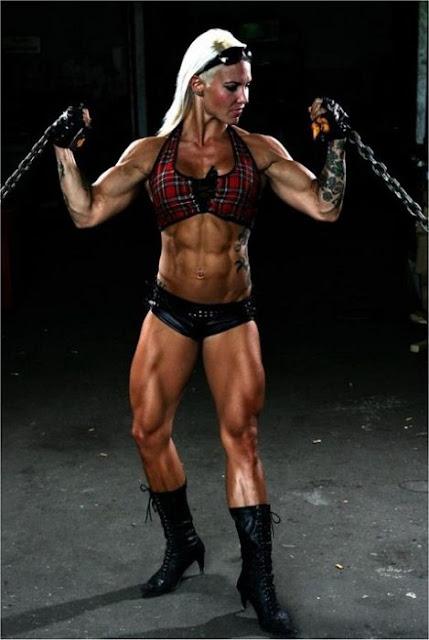 Heidi Vuorela - Finnish Female Bodybuilders