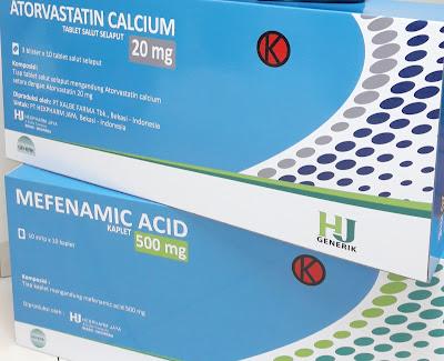 Cari Obat Generik? Pilih Kemasan Berwarna Biru Dari HJ Generik