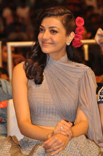 Actress Kajal Aggarwal Stills at Sardaar Gabbar Singh Audio Launch  0022