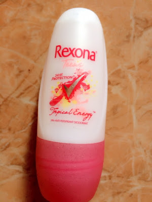 Review Rexona Deodorant Teens Tropical Energy