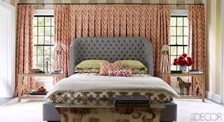 tende coprenti in camera da letto immagine
