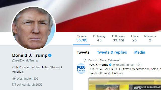 Trump bloquea en Twitter a varios usuarios por sus críticas y ellos lo demandan ahora ante la Corte