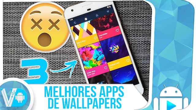 3 ► MELHORES 🥇 APLICATIVOS de WALLPAPERS [ALTA QUALIDADE] para Android
