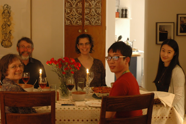 Starting a family means tough choices when it comes to which Christmas traditions to carry on with; UAlberta staffer Niall McKenna discovers that sharing a meal with strangers is a great place to start