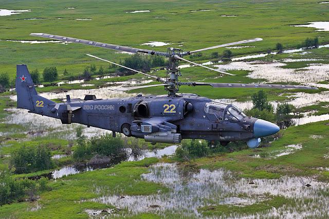 Gambar 02. Foto Helikopter Tempur Kamov Ka-52 Alligator