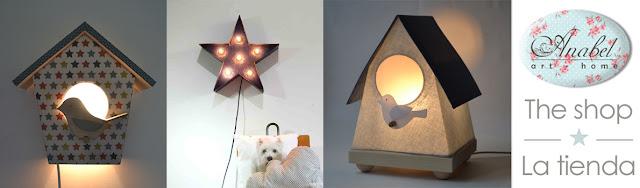 lámparas infantiles originales y con encanto.