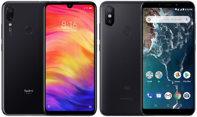 Xiaomi Redmi Note 7 32G vs Xiaomi Mi A2 64G