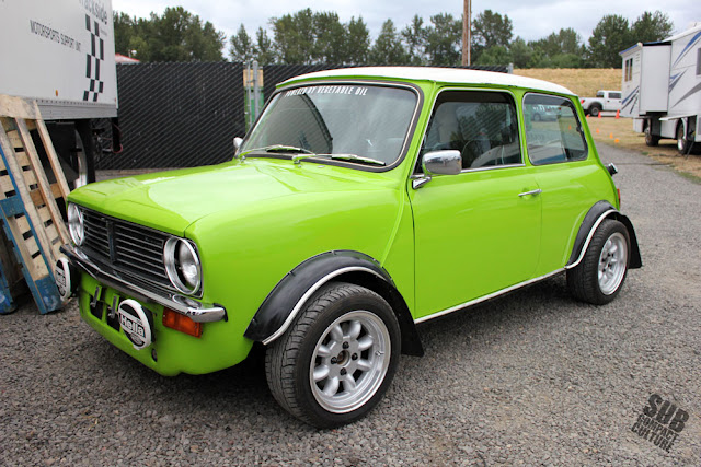 Diesel Powered Mini Cooper