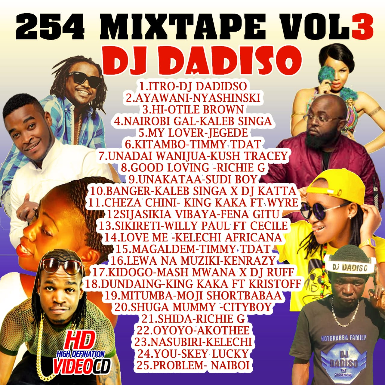 DJ DADISO - BURN OUT BONGO MIXTAPE VOL 1 - DJ DADISO
