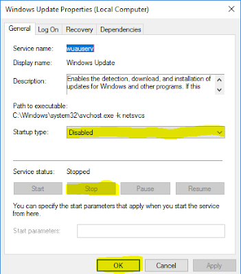 Cara mematikan windows update otomatis di windows 10, windows 8 dan windows 7