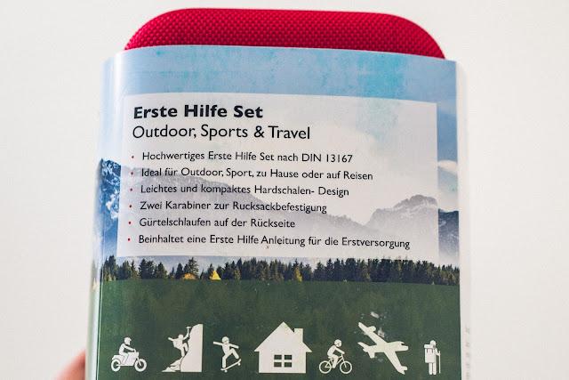 Gear of the Week #GOTW KW 48  GoLab Outdoor Erste-Hilfe-Set  Erste-Hilfe beim Wandern  Verbandskasten-Outdoor 06