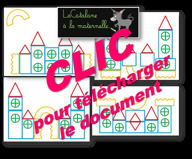 Château des formes géométriques (LaCatalane)