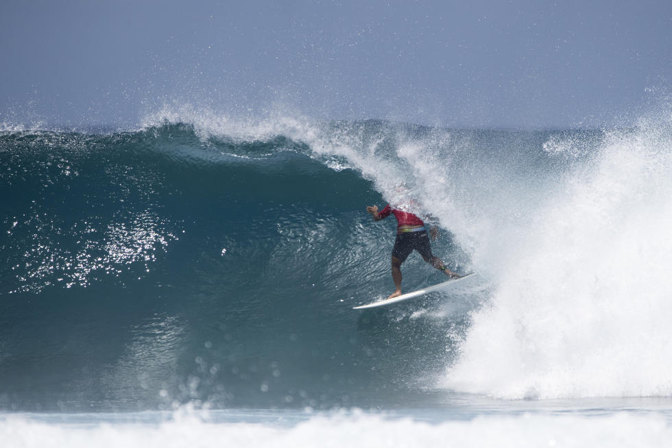 15 shane Four Seasons Maldives Surfing Champions Trophy foto WSL Sean Scott