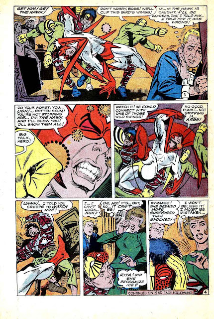 Hawk and the Dove v1 #1 dc silver age 1960s comic book page art by Steve Ditko