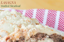 Lasagna Stuffed Meatloaf