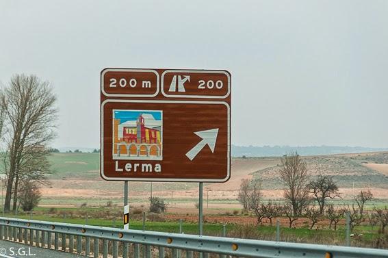 Cartel de Lerma. Visitando Lerma