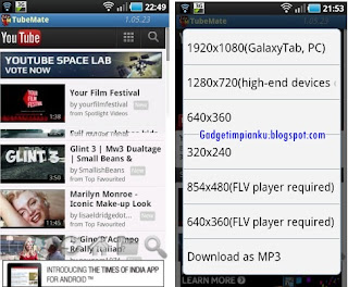 bagaimana cara mendownload video di youtube menggunakan android