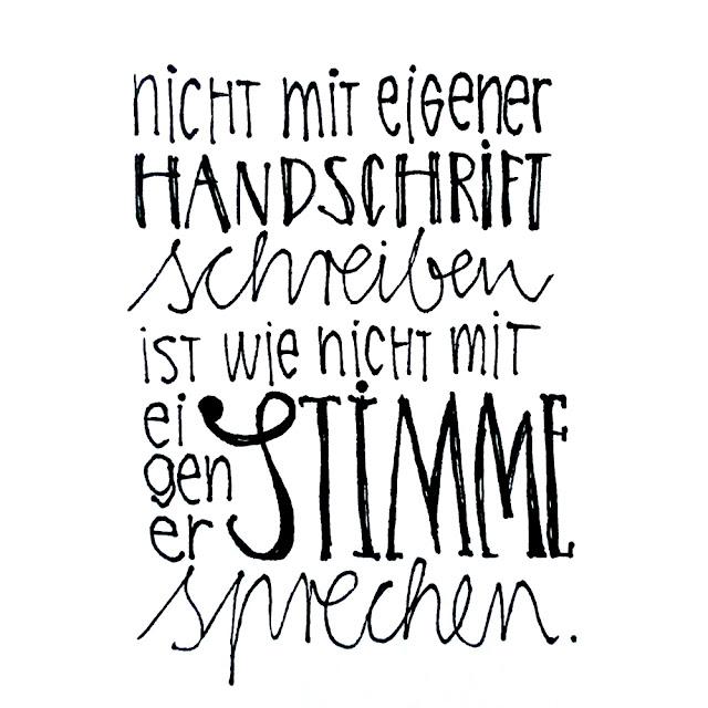 hand lettering by frauschoenert