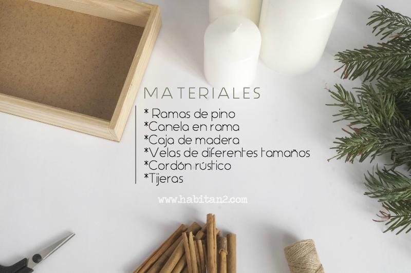 Centro navideño perfumado, aprende a hacerlo by Habitan2 | Tutorial como hacer un centro navideño perfumado | Decoración handmade de estilo nórdico en Navidad