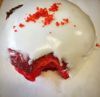 Red Velvet Donut Aungier Danger