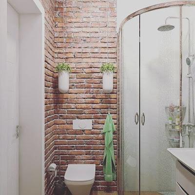 kamar mandi sederhana untuk rumah minimalis