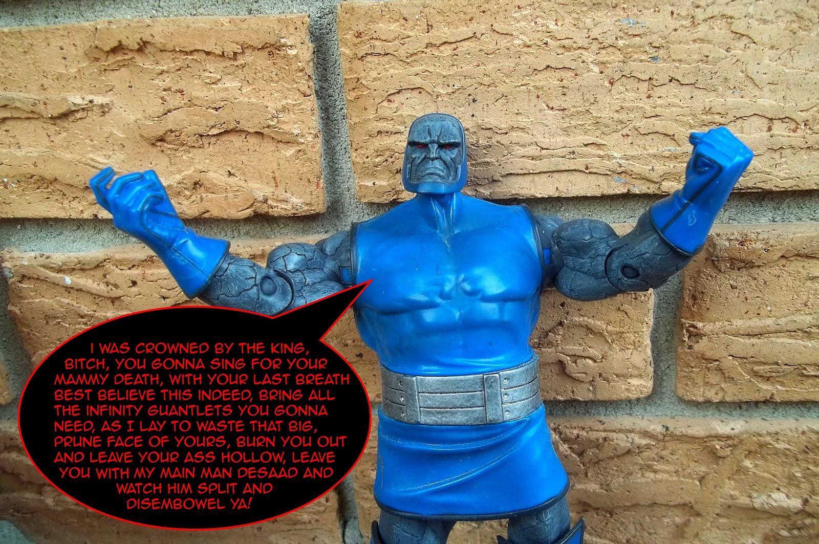 Mr  Morbid's House of Fuckery: Epic Rap Battle: Thanos VS  Darkseid