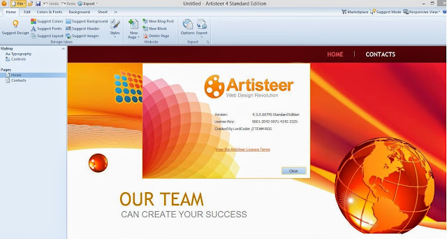 Artisteer 4.3 Full Crack + License key Free Download