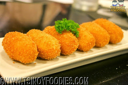 three cheese croquetas