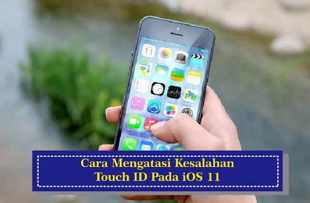 Cara Mengatasi Kesalahan Touch ID iOS 11