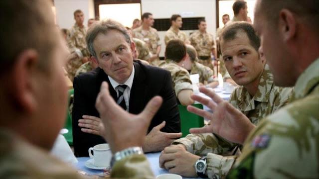 Familiares de militares británicos fallecidos en Irak estudian emprender acciones legales contra Blair