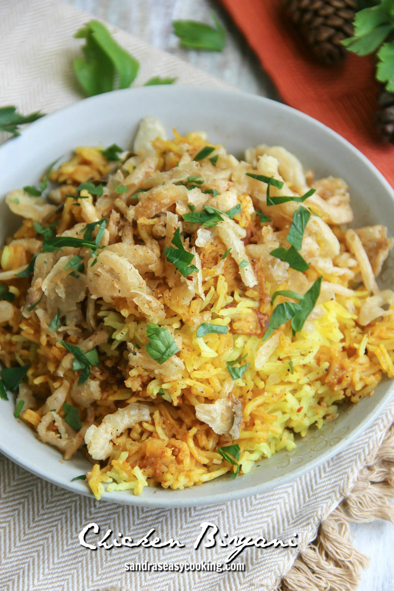 Delicious and Easy Chicken Biryani #recipe
