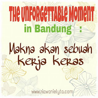 the unforgettable moment in Bandung
