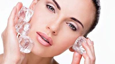 Manfaat Luar Biasa Es Batu Untuk Kecantikan Kulit Wajah