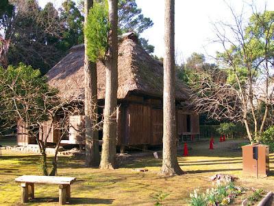 Miyazaki Prefectural Museum Minka-en, Kyushu, Japan