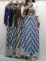 Maxi Cantik + Cardi Spandex 2 SOLD OUT