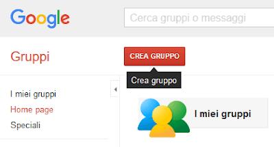 Come creare un gruppo su google gruppi