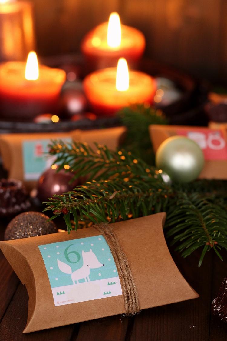 DIY/Tutorial Adventskalender aus Geschenkschachteln 2