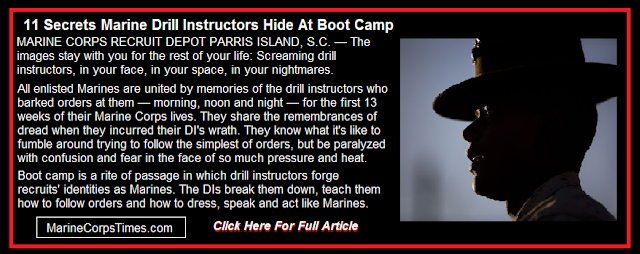 11 secrets Marine drill instructors hide at boot camp